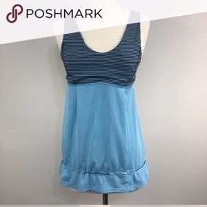 NWOT Lululemon 2 in 1 Tank with sports bra